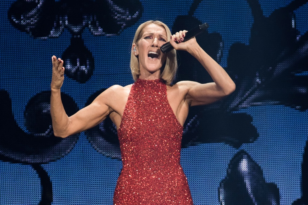 Celine Dion (pic), Justin Bieber and Margaret Atwood were among the Canadian celebrities who joined for a broadcast event Sunday to honour health — AFP pic