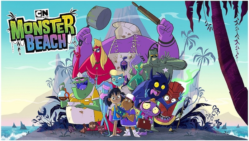 'Monster Beach' draws inspiration from island living that audiences in the region are familiar with. — Picture courtesy of Cartoon Network