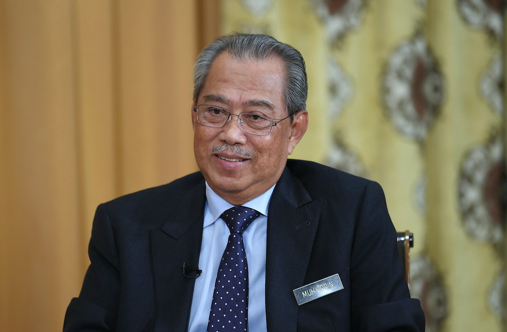 Tan Sri Muhyiddin Yassin announced today that the party will amend several things in its constitution, including the establishment of an associate member wing. — Bernama pic