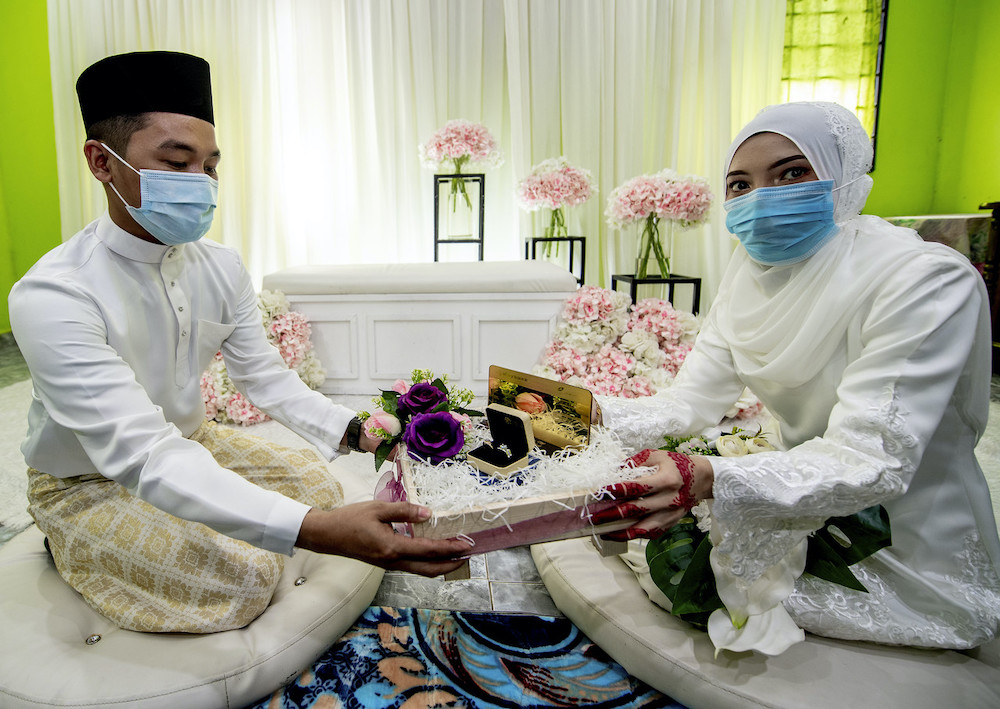 The marriage solemnisation ceremony will be open to the couples who have obtained their marriage permits from Jawi. — Bernama pic
