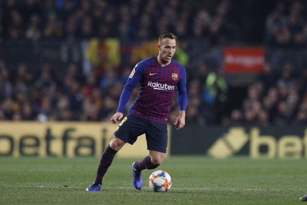 Brazilian midfielder Arthur Melo has been sold to Juventus in a deal worth €72 million (RM358.6 million). — Picture by Mutsu Kawamori/AFLO via Reuters