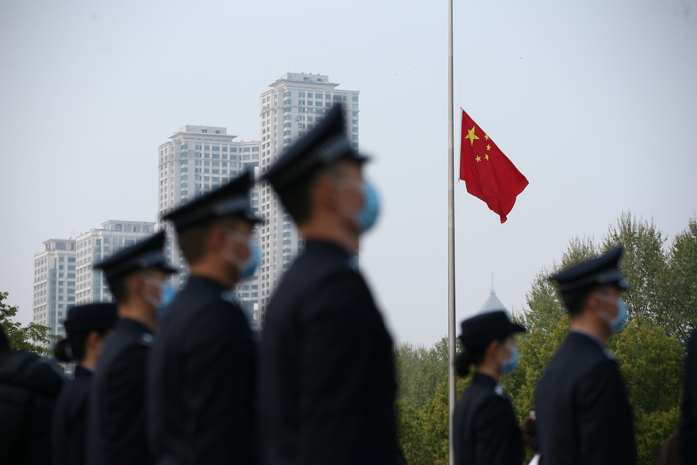 China said it would forget the 'precious friendship' shown by countries and NGOs who had provided aid to China. — Reuter