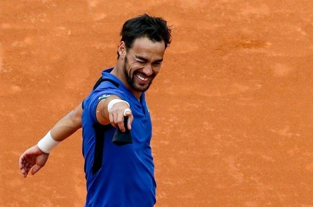Fognini won the 2019 Monte Carlo Masters. — AFP pic