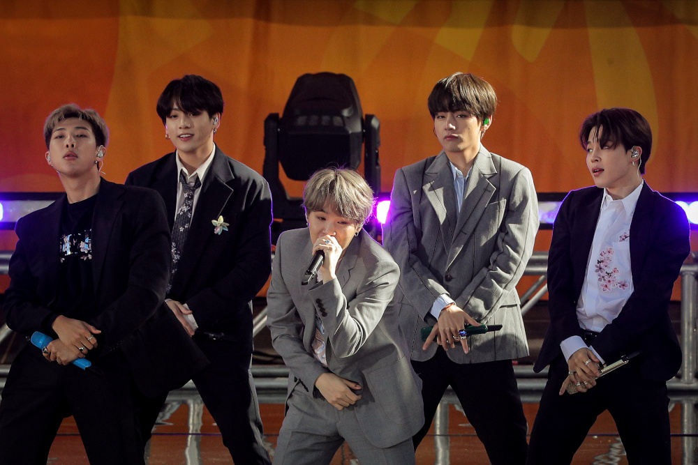 According to BTS' agency, Bit Hit Entertainment, it was the world's biggest paid online music event in terms of the number of viewers. — Reuters pic