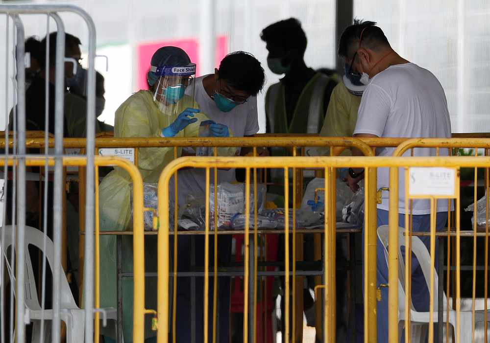 The Malaysian was placed on quarantine on January 18, adding that on January 20, she was tested for Covid-19 even though she was asymptomatic. — Reuters pic
