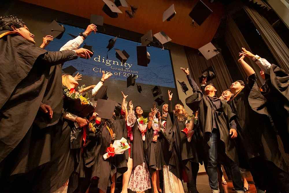 Dignity's Class of 2019 celebrate their much-anticipated graduation earlier this year in February. — Picture via Facebook/Dignity for Children Foundation