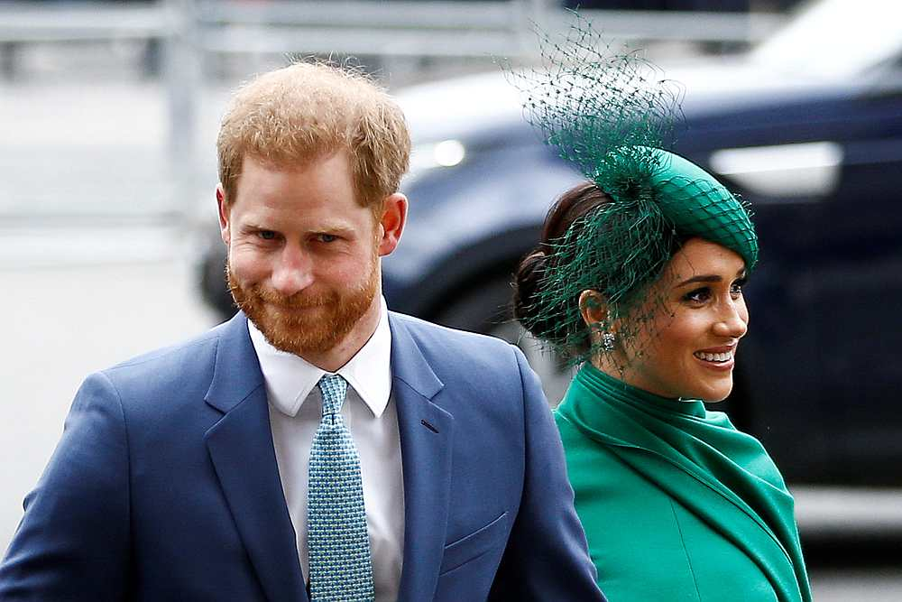 Meghan Markle and husband Prince Harry relocated to the United States via Canada this year after announcing in January that they were quitting frontline British royal duties. — Reuters pic