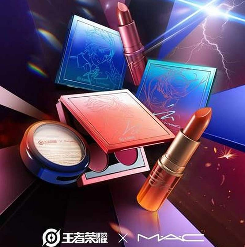 MAC Cosmetics is launching a collection featuring characters from the game 'Honor of Kings.' — Picture courtesy of MAC Cosmetics via AFP