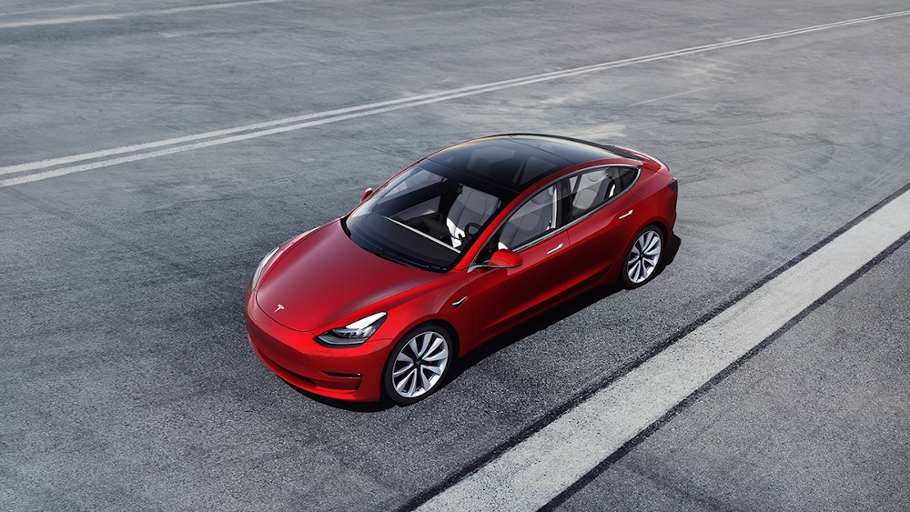 Elon Musk's company has just announced that Model 3 and Model Y vehicles that will be shipped to North America will not be equipped with radar sensors. — Picture courtesy of Tesla