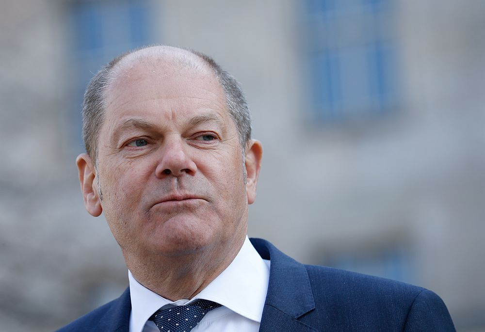 The figure will be formally announced on Wednesday when Finance Minister Olaf Scholz presents next year's federal budget. — Reuters pic