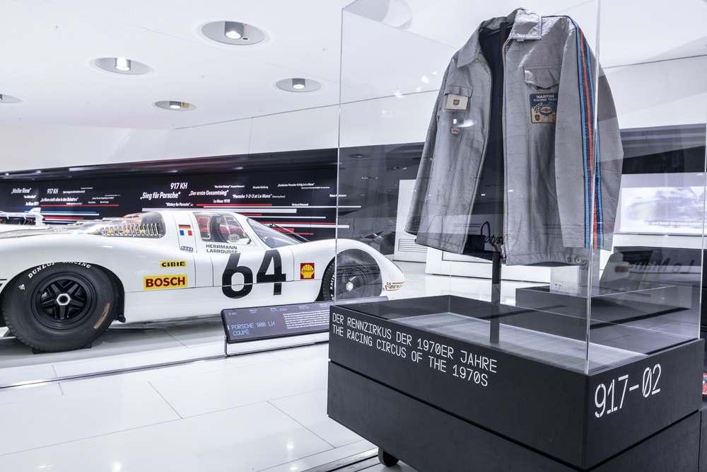 Inside the Porsche Museum in Stuttgart, Germany — Picture courtesy of Porsche