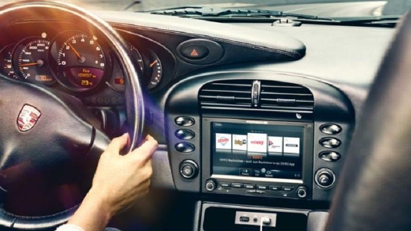 The PCCM Plus system fits into a Porsche with 2-DIN dimensions. ― Picture courtesy of Porsche via AFP