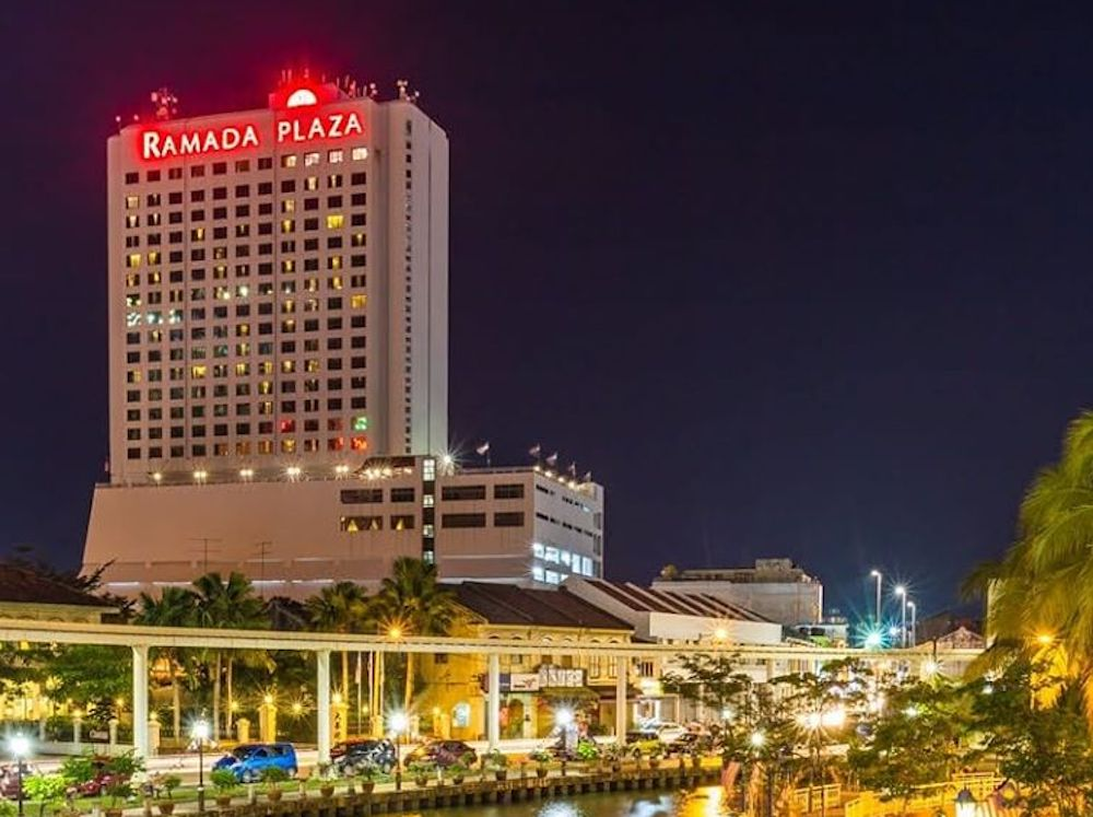 The Ramada Plaza Hotel is the latest in a slew of hotels in the country that have announced shutting down their operations due to the pandemic. — Picture via Facebook