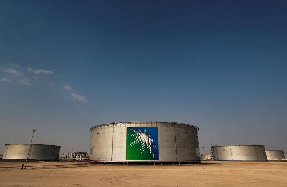 A view shows branded oil tanks at Saudi Aramco oil facility in Abqaiq, Saudi Arabia October 12, 2019. — Reuters pic