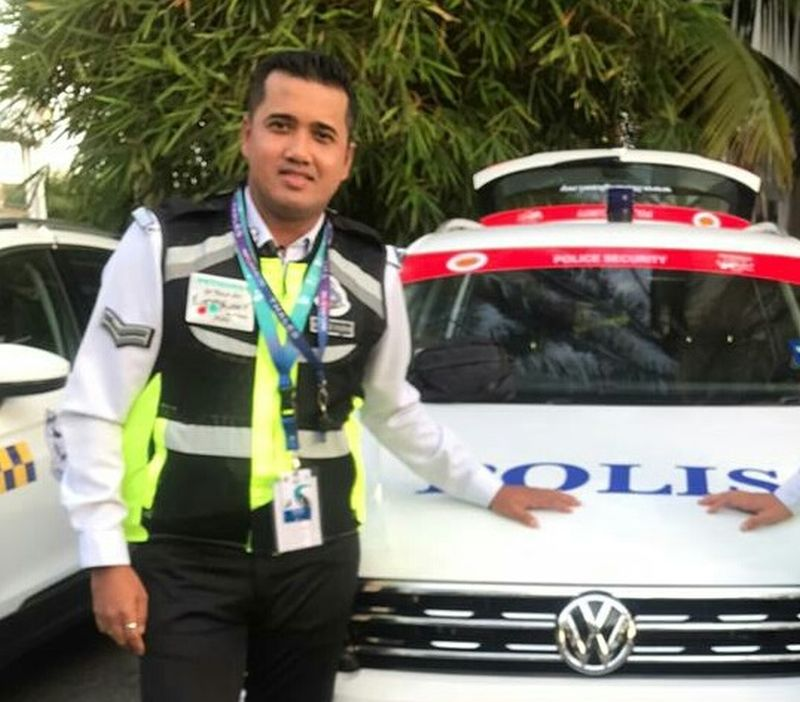 Corporal Syazwan has served in Kulim for 13 years now and his wife is also a police officer at the Kulim District Police Headquarters. — Picture courtesy of Muhammad Syazwan Ahmad Saifudin