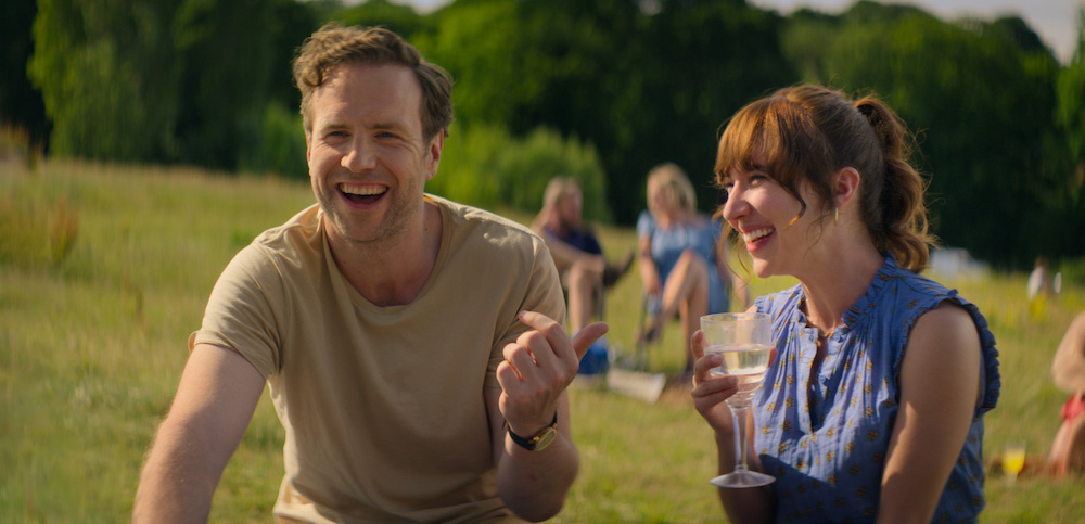 Actors Rafe Spall and Esther Smith bring a lot of heart to their roles in 'Trying' — Picture courtesy of Apple