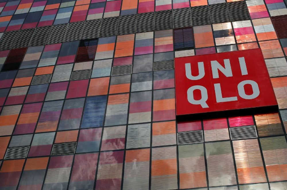A company logo is seen on the exterior of a UNIQLO store at Taikoo Li Sanlitun shopping centre in Beijing May 12, 2014. — Reuters pic