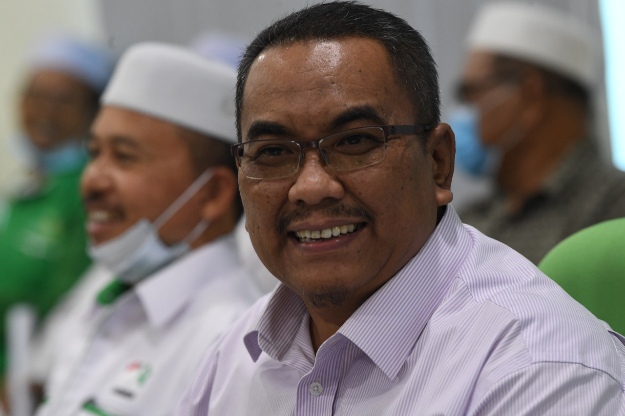 Jeneri assemblyman Muhammad Sanusi Md Nor is also the current PAS elections director. —Bernama pic