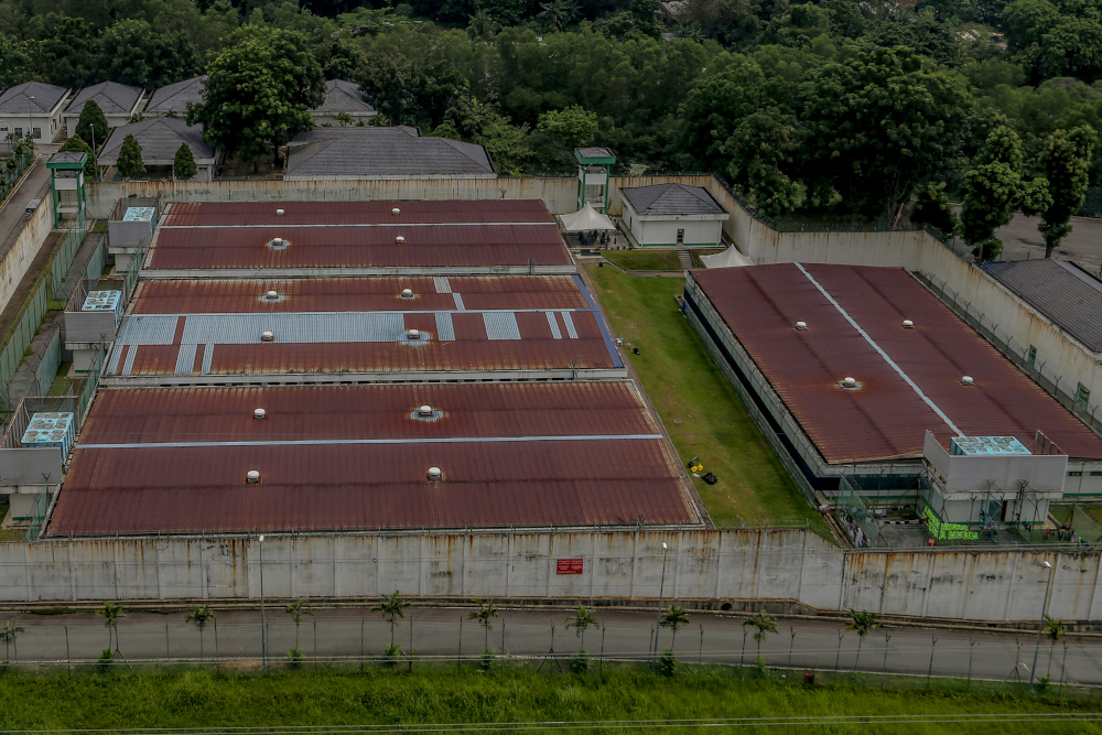 A general view of the Immigration Detention Centre at Bukit Jalil May 25, 2020. — Picture by Firdaus Latif