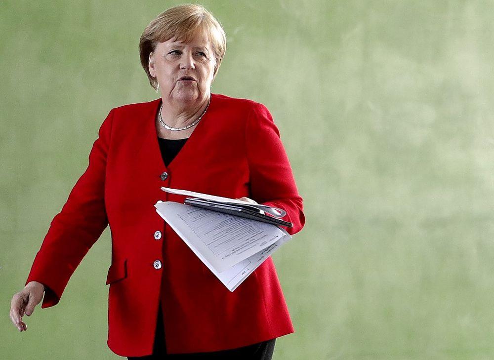 File photo of German Chancellor Angela Merkel. — AFP pic