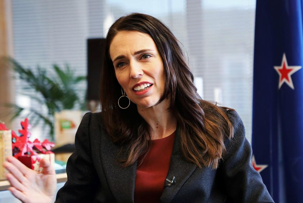 New Zealand's Prime Minister Jacinda Ardern told Coast Radio that she and her partner television host Clarke Gayford have 'finally got a date' for the wedding.— Reuters pic