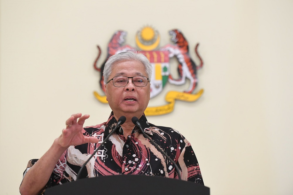 Senior Minister Datuk Seri Ismail Sabri Yaakob said Putrajaya has allowed equestrians to reopen to allow horses to be fed and bathed. — Bernama pic