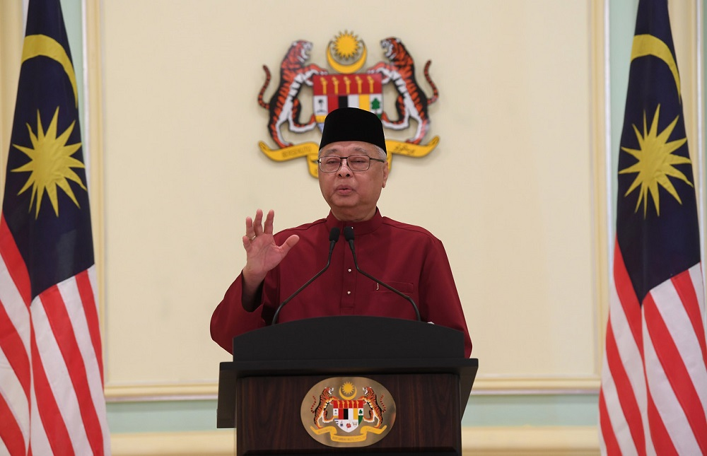 Singapore's Senior Minister Teo Chee Hean said he has been coordinating closely with Datuk Seri Ismail Sabri Yaakob (pic) over the past two months on Singapore's and Malaysia's responses to the Covid-19 outbreak. — Bernama pic