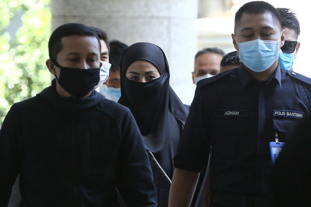Datuk Nurulhidayah Ahamd Zahid is pictured at the Magistrate's Court in Putrajaya May 5, 2020. — Picture by Yusof Mat Isa