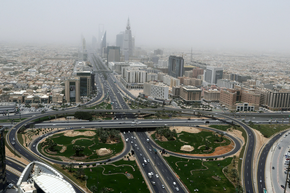 Riyadh has officially denied the talks are being held.. — Reuters pic