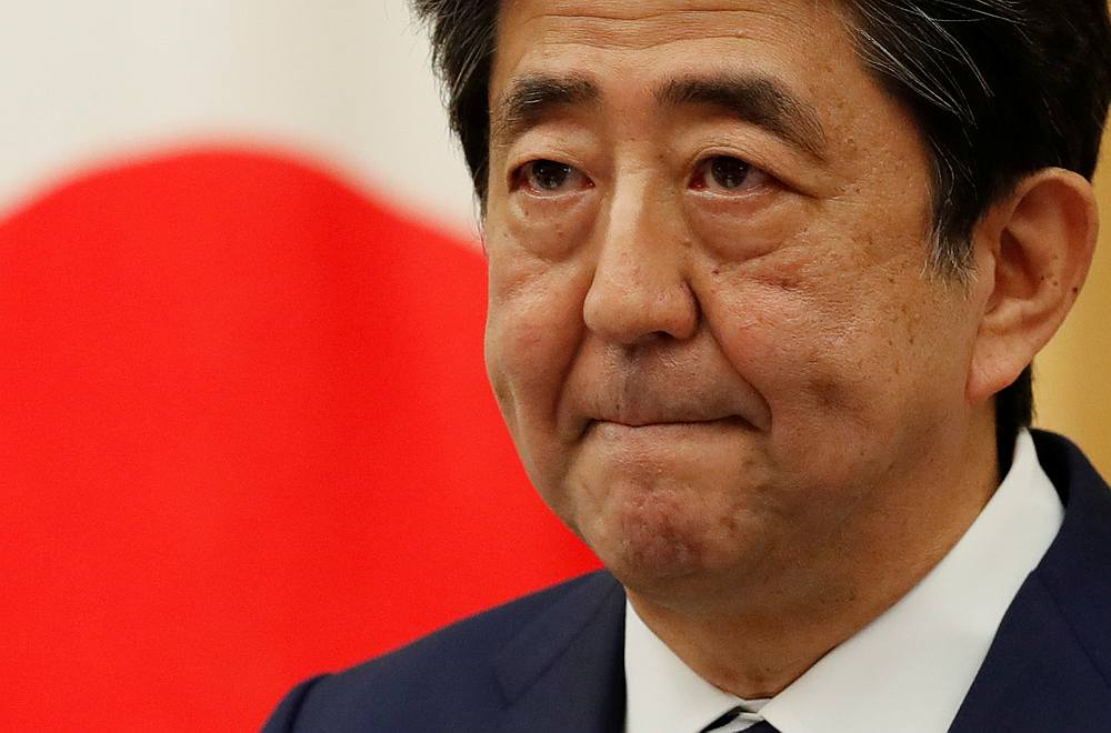 The panel's latest view means the growth cycle fuelled by Abe's 'Abenomics' policies stopped a little short of a record post-war expansion phase that lasted for 73 months through February 2008. — Reuters pic