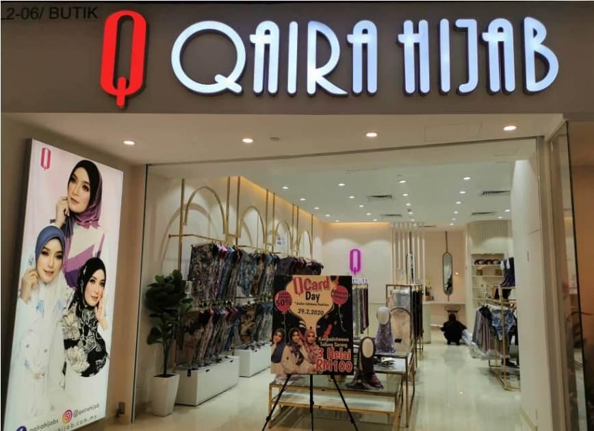 Qaira Hijab has over half a million followers on social media. — Picture courtesy of Qaira Holdings Sdn Bhd