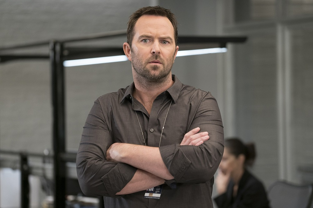 The Australian actor plays Agent Kurt Weller on the popular crime drama 'Blindspot' which is in its fifth and final season. ― Picture courtesy of Warner TV