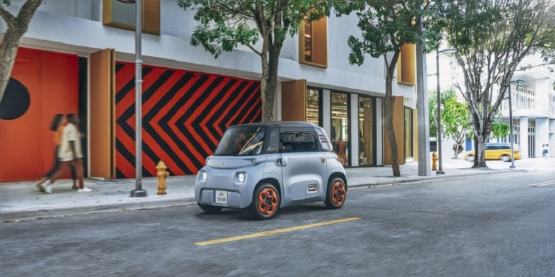Citroën's Ami is accessible to everyone from the age of 14 and does not require a driver's licence. ― Picture courtesy of Citroën Communication via AFP