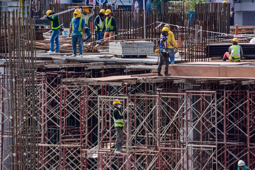 The Works Ministry says construction work needs to be stopped during the movement control order (MCO) period in the states involved. — Picture by Hari Anggara