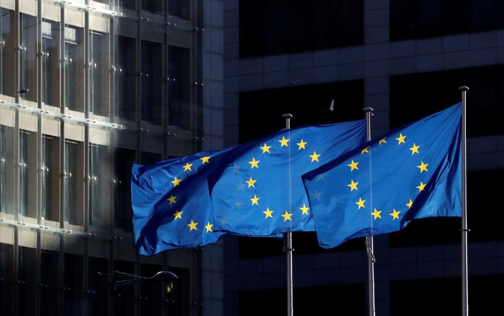 EU foreign ministers are expected today to approve sanctions against Russia and Myanmar. — Reuters pic