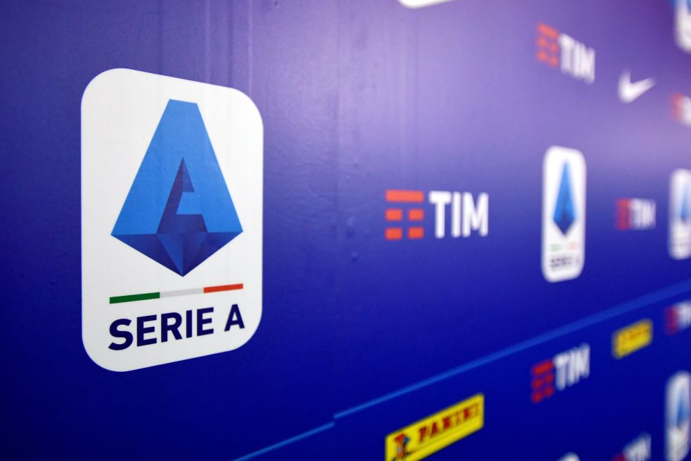 A logo of Italy's Lega Serie A is seen in Milan, Italy, December 17, 2019. — Reuters pic