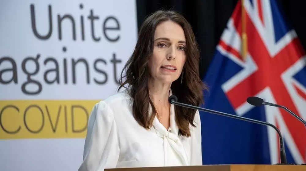 New Zealand Prime Minister Jacinda Ardern is experiencing record high support. — AFP pic