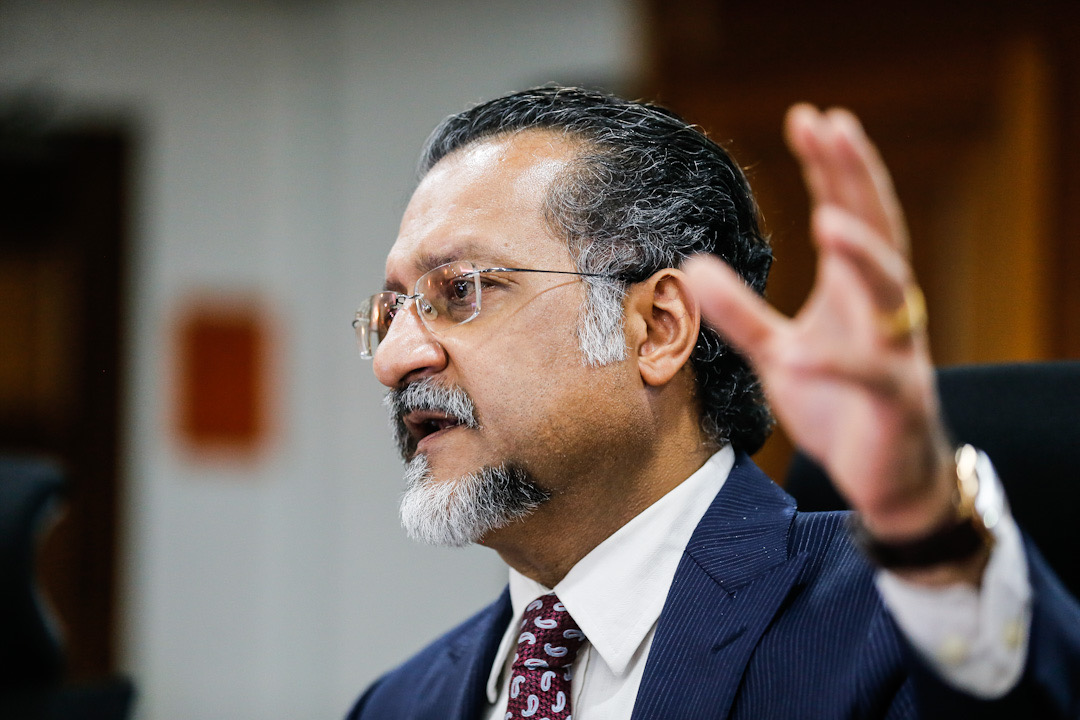 Penang exco Jagdeep Singh Deo said although the state government had recently allowed dine-in services in restaurants during the CMCO, it was implemented with stringent guidelines and cooperation. — Picture by Sayuti Zainudin