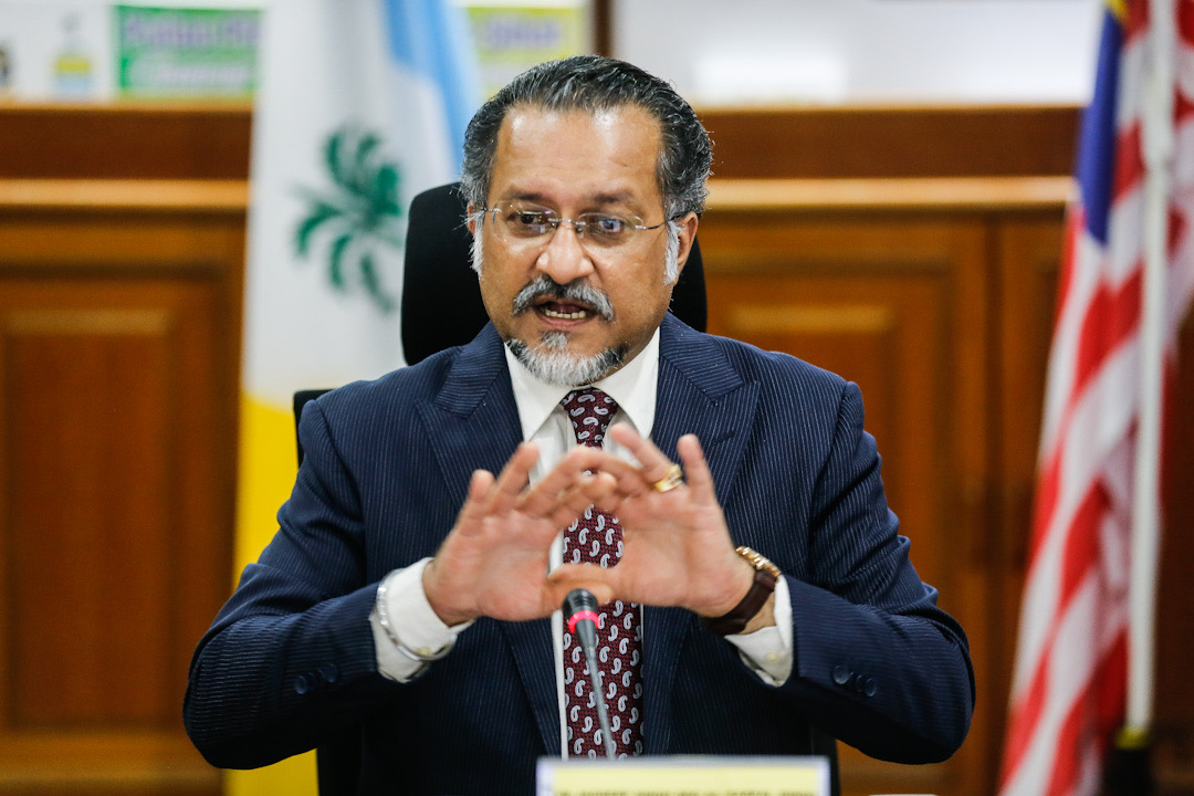 State exco Jagdeep Singh Deo said the ICUs used to treat Covid-19 patients in government hospitals are full so the setting up of a field ICU is necessary to deal with the reality of the situation.  — Picture by Sayuti Zainudin
