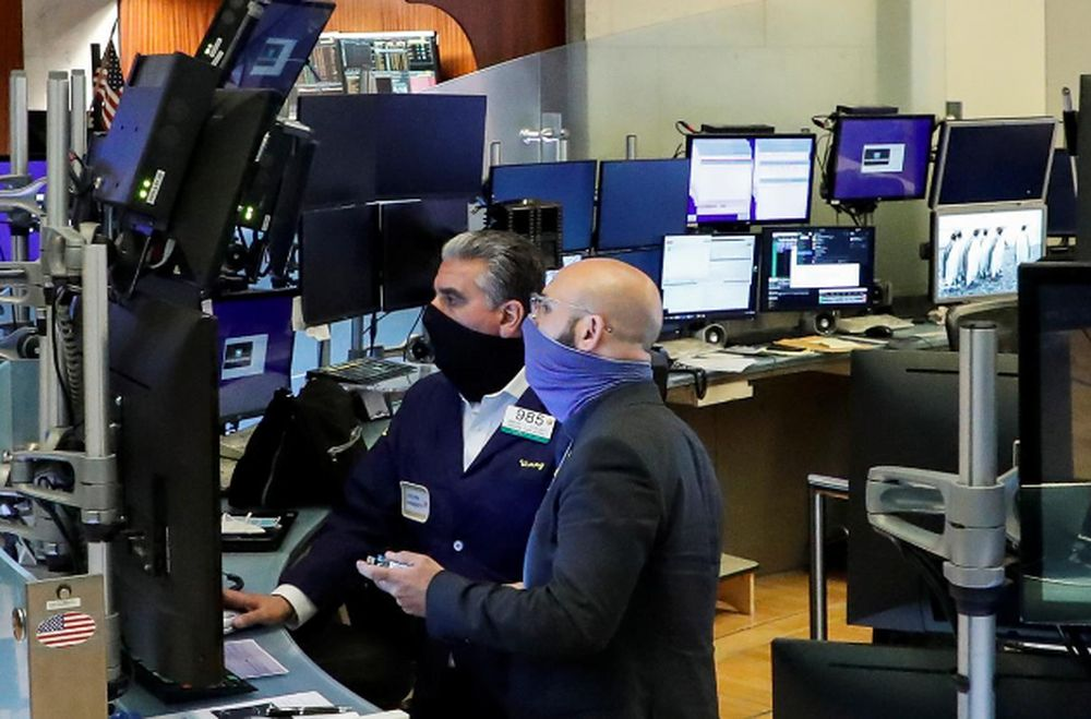 At 9.43am ET, the Dow Jones Industrial Average was up 230.21 points, or 0.83 per cent, at 27,917.12, the S&P 500 was up 30.25 points, or 0.91 per cent, at 3,363.94. — Reuters pic
