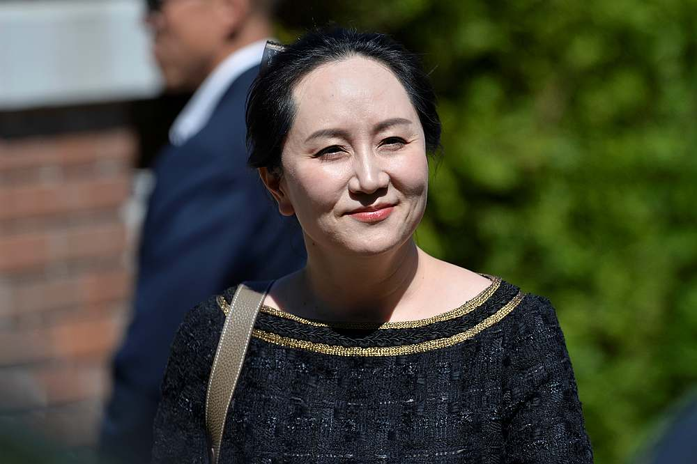 Meng Wanzhou was arrested two years ago at the Vancouver airport by Canadian police on an arrest warrant from the United States, where she is charged with bank and wire fraud for allegedly misleading HSBC about Huawei Tech Co Ltd's business dealings in Iran. — Reuters pic