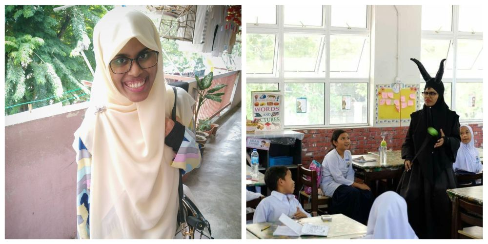 This year marks the fourth year of teaching for Norashikin. — Picture courtesy of Norashikin Zainull Abdin