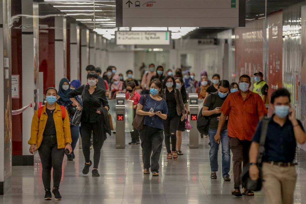 MTUC alleged jobs in the hundreds of thousands have been decimated in reality, which it blamed on the government's refusal to roll out policies that would have protected workers. — Picture by Firdaus Latif