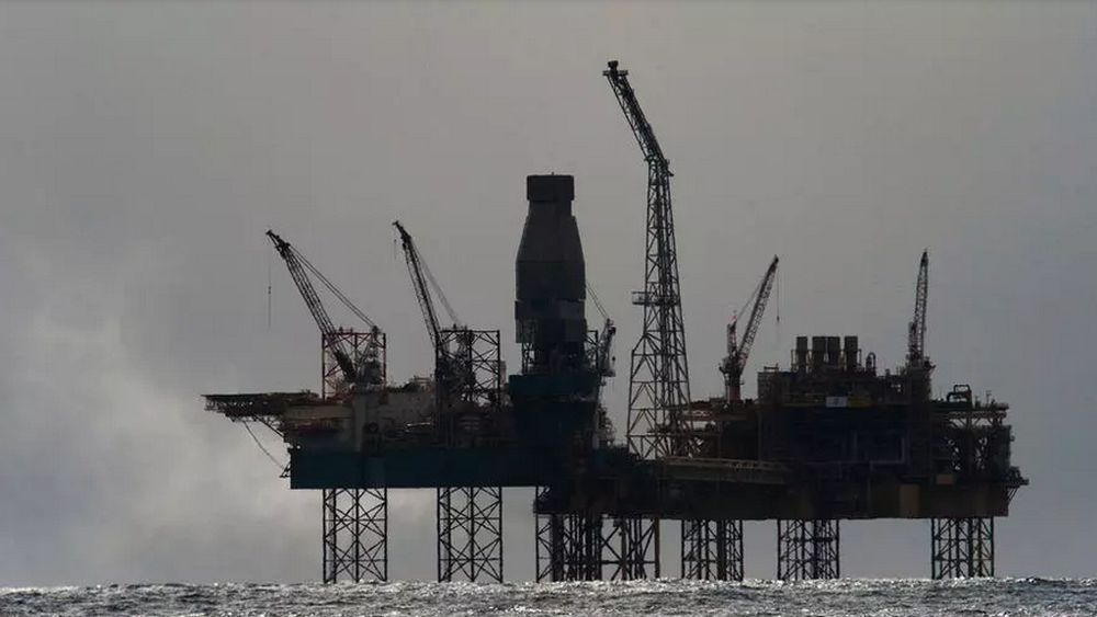 French oil major Total reported a net profit of US$34 million for the first quarter of 2020. — AFP pic