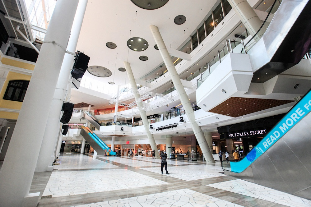 A general view of the Gurney Paragon mall in George Town May 8, 2020. ― Pictures by Sayuti Zainudin