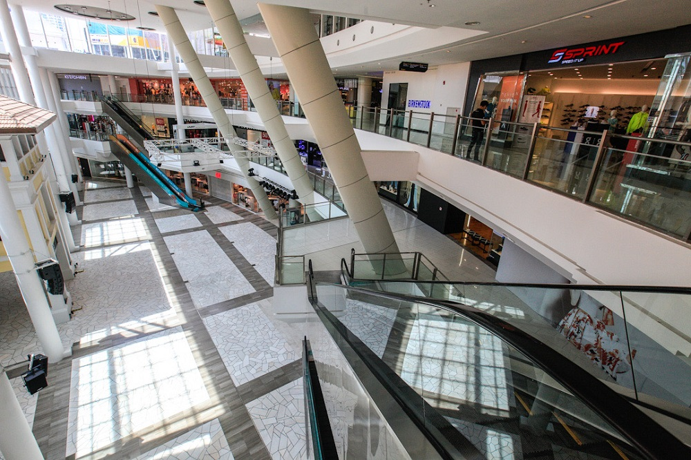 A general view of the Gurney Paragon mall in George Town May 8, 2020. ― Picture by Sayuti Zainudin