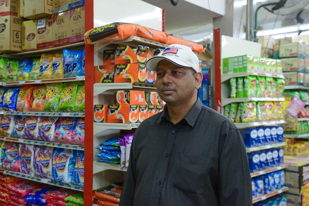 Md Billal Hossain Bhuiyan, the owner of Pasaraya Harian Bhuiyen, has fond memories of Pudu. ― Picture by Soo Wern Jun