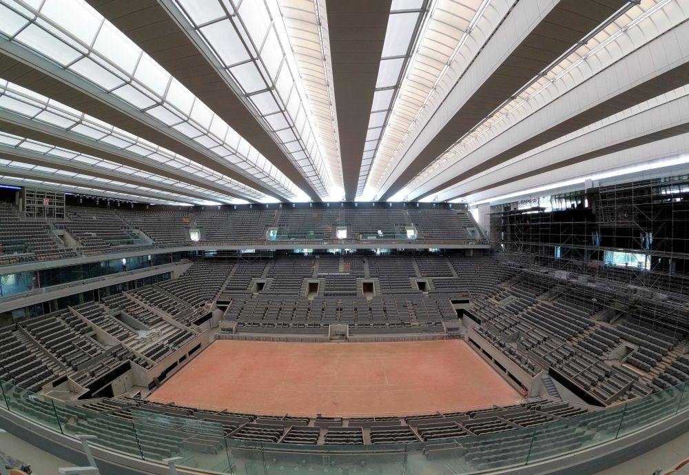 The French Open will be held from Sept. 27-Oct. 11 after being moved from its usual late May-June slot. — Reuters pic