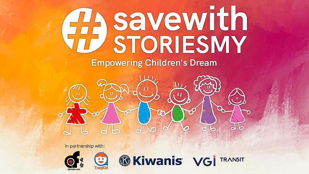 The campaign aims to help children who have been marginalised and excluded from learning opportunities by empowering them with the gift of education. — Picture courtesy of SaveWithStoriesMY