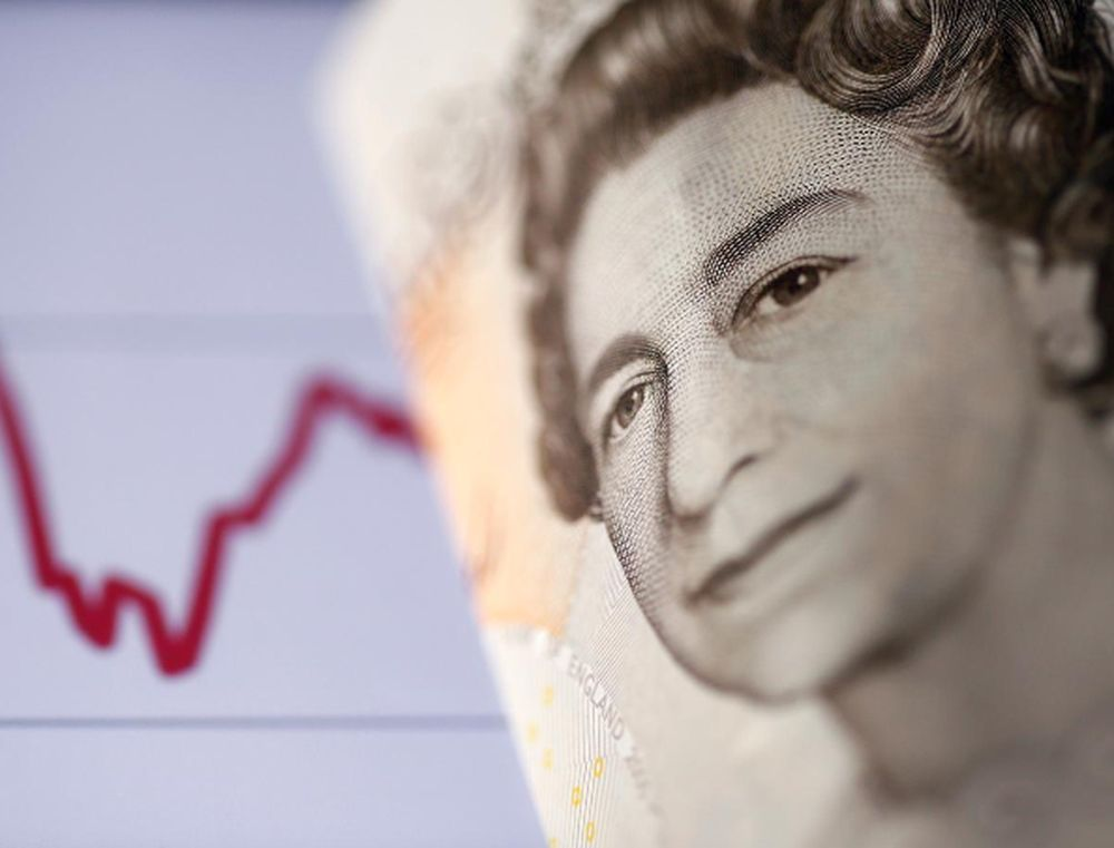 The British pound was last up 0.4 per cent at US$1.3373, close to US$1.3396, its highest since September 2, reached yesterday. — Reuters file pic